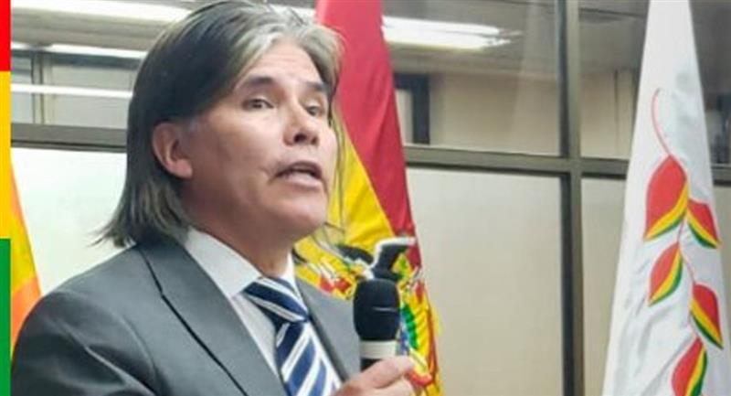Viceministro de Vivienda, Vladimir Ameller. Foto: ABI