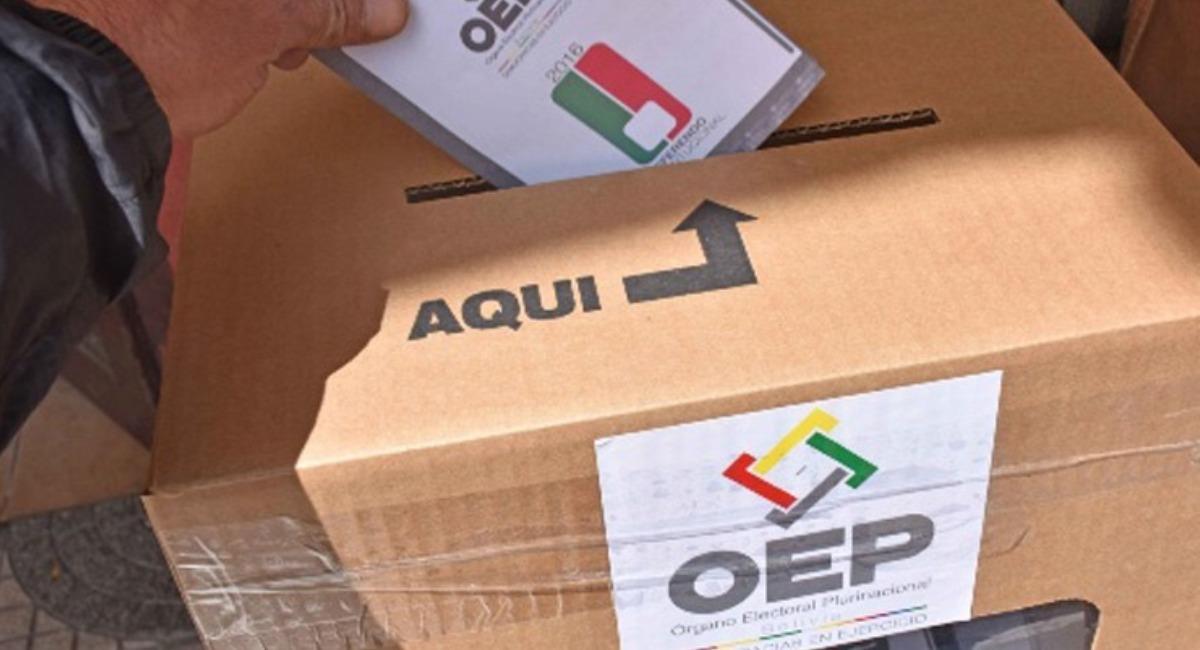 Las elecciones se realizarán el 6 de septiembre. Foto: ABI