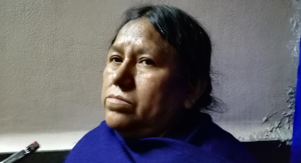 La exministra de Desarrollo Rural, Nemesia Achacollo. Foto: ABI