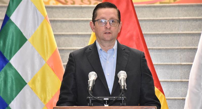 Óscar Ortiz, ministro de Desarrollo Productivo y Economía Plural. Foto: ABI