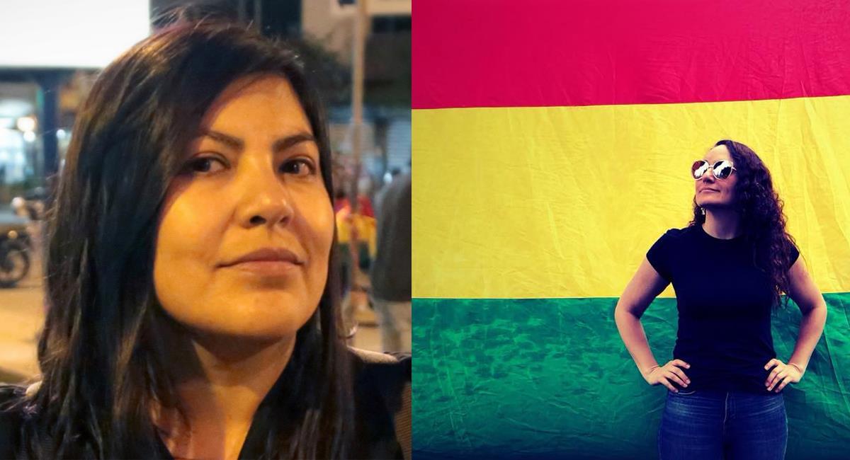 Las cineastas Gabriela Maire y Violeta Ayala. Foto: Facebook Violeta Ayala y Gabriela Maire