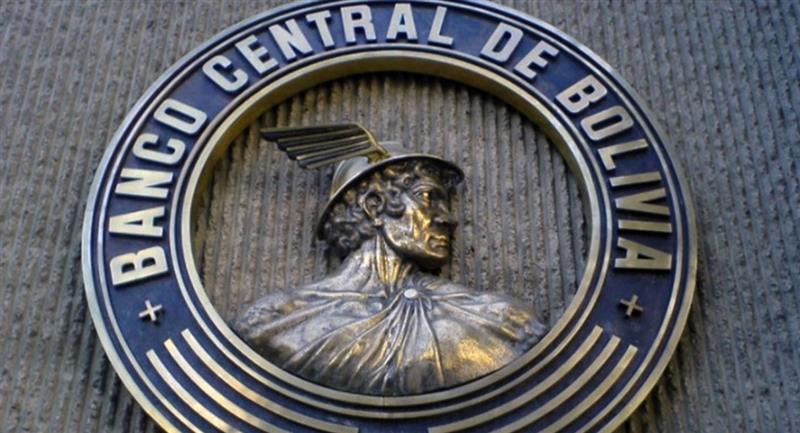 Logo institucional del Banco Central de Bolivia. Foto: BCB