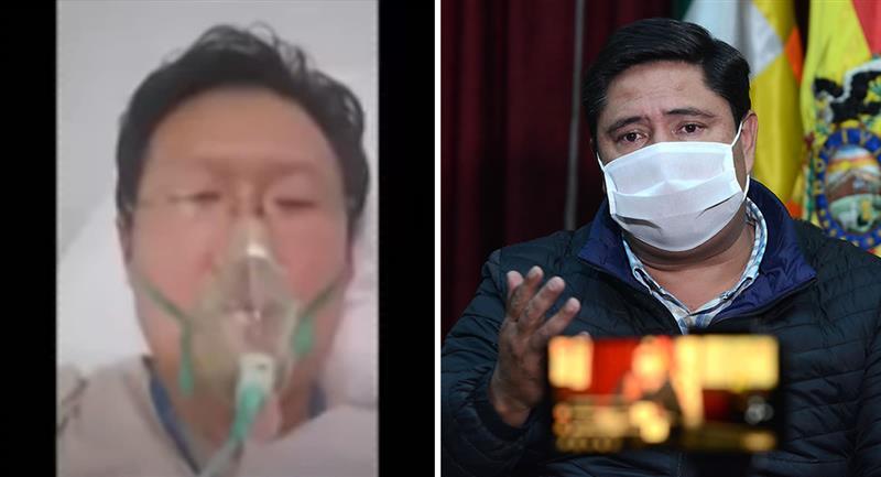 Médico y pastor presbiteriano Chi HyunChung, y el ministro interino de Trabajo, Óscar Mercado. Foto: Captura de video y ABI