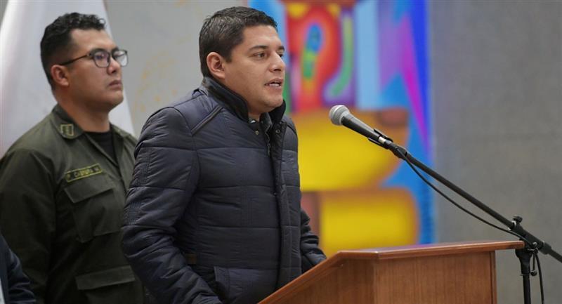 El ministro de Justicia, Álvaro Coímbra. Foto: ABI