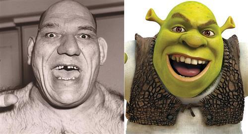 La conmovedora historia de Maurice Tillet, el hombre que inspiró 'Shrek'