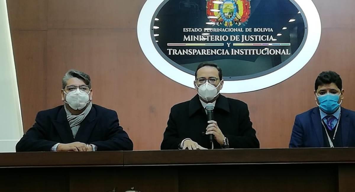 El Ministerio de Justicia brindará apoyo a la familia de Esther. Foto: ABI