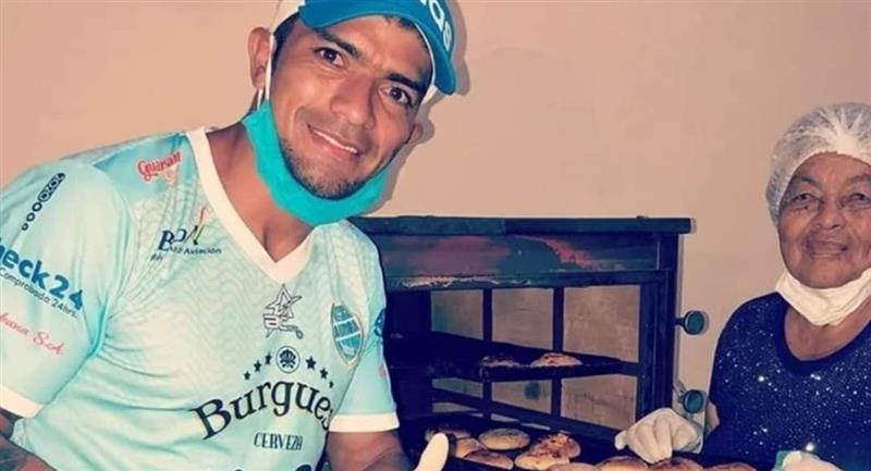 El futbolista Gabriel Ríos. Foto: Facebook Club Aurora