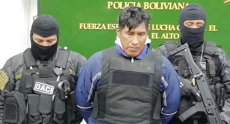 Zenón Manzaneda Juchani, asesino confeso de la niña Esther. Foto: ABI