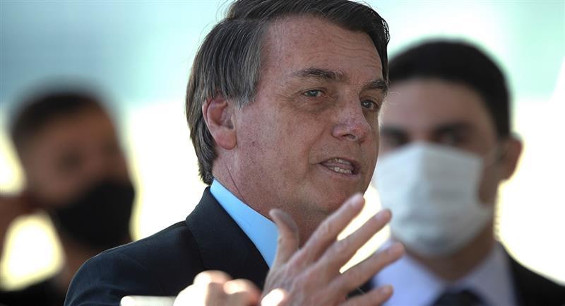 Presidente de Brasil, Jair Bolsonaro, tiene coronavirus. Foto: EFE