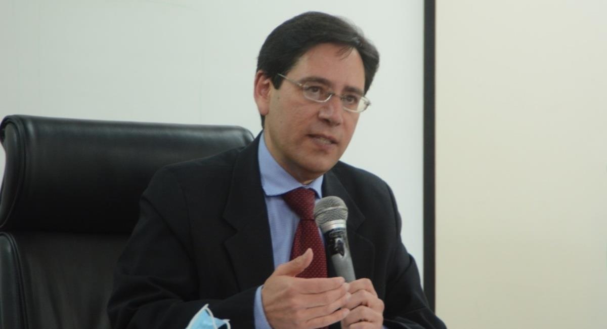 El presidente del Tribunal Supremo Electoral, Salvador Romero. Foto: ABI