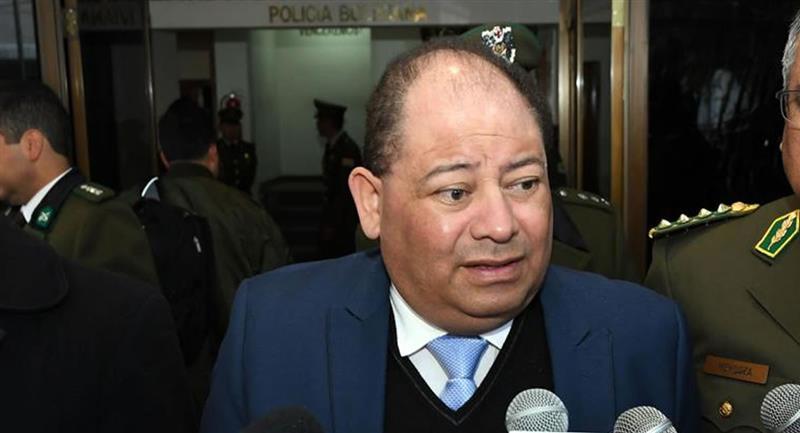 Ramírez señaló que una vez cumpla con su tratamiento, Romero regresará a su detención domiciliaria. Foto: ABI