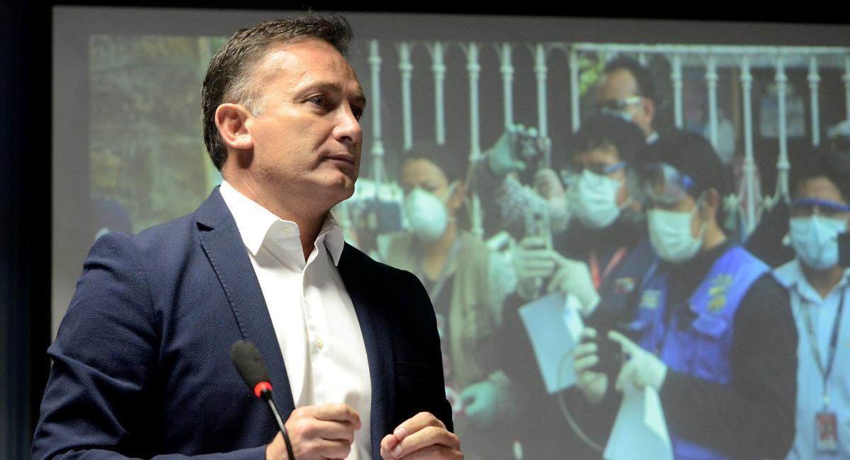 El nuevo ministro de Salud, Fernando López. Foto: ABI