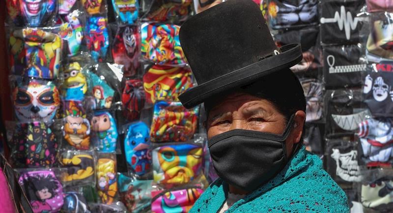 Bolivia es uno de los países más afectados por la COVID-19. Foto: EFE