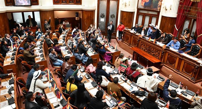 Las comisiones de las Asamblea Legislativa programan sus sesiones cada martes y se extiende hasta el jueves. Foto: ABI