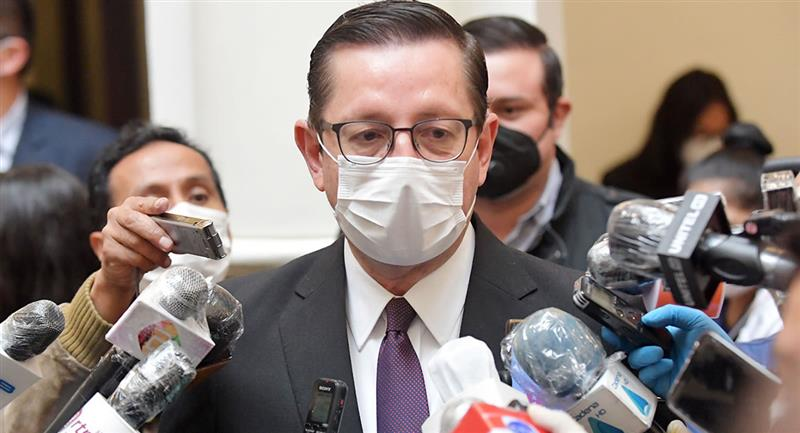 Ortiz estaba al frente del Ministerio de Desarrollo Económico y desde el pasado martes había asumido la cartera de Economía. Foto: ABI