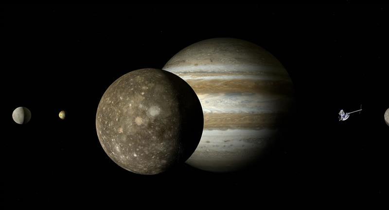 """Júpiter se verá durante la madrugada """"como una gran estrella"""""""