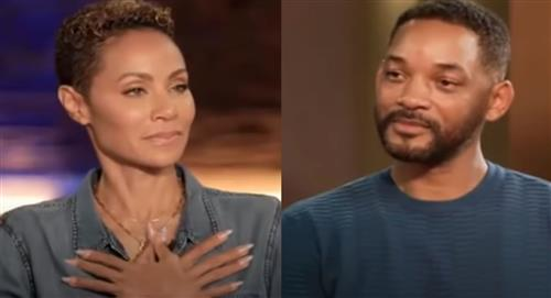 Jada Pinkett Smith confesó en público y frente a Will Smith que le fue infiel