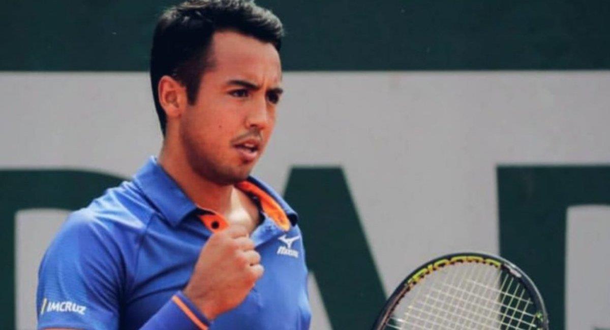 El tenista beniano, Hugo Dellién. Foto: ABI