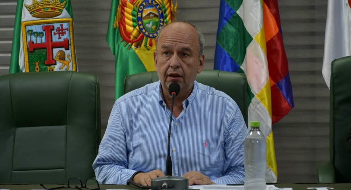 El ministro de Gobierno, Arturo Murillo. Foto: ABI