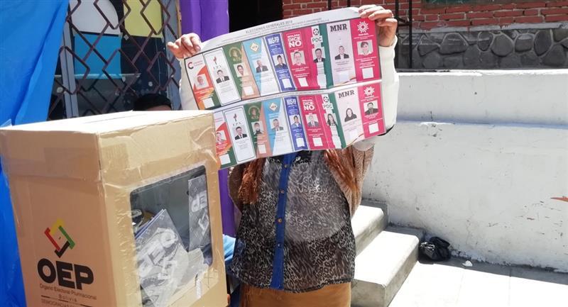 Varios comités cívicos manifestaron su rechazo a la fecha fijada para los comicios. Foto: ABI