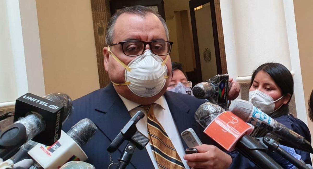 El ministro de Desarrollo Productivo, Abel Martínez. Foto: ABI