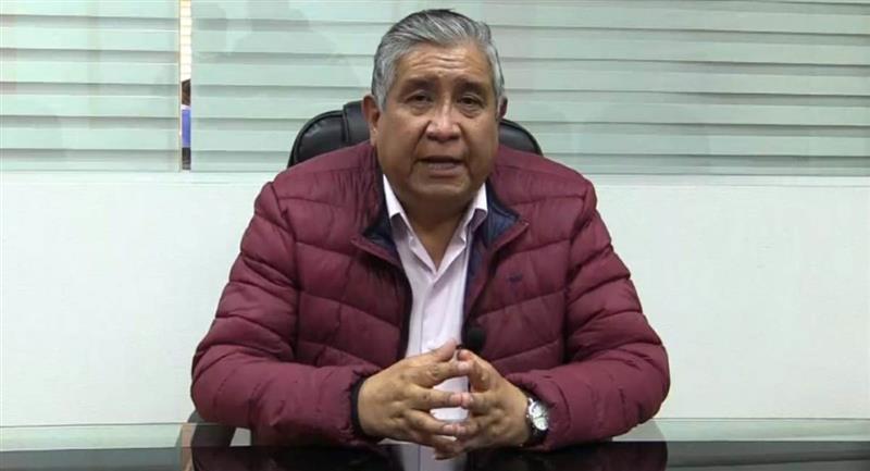 El presidente de FBF, César Salinas. Foto: ABI