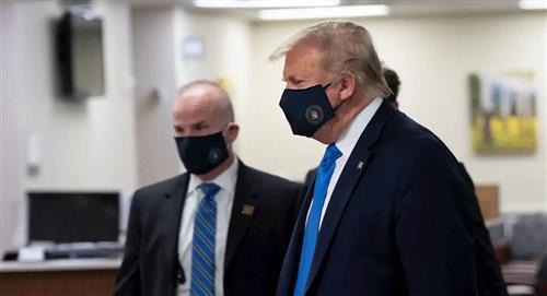 """Donald Trump ahora dice que llevar mascarillas es """"patriótico"""""""