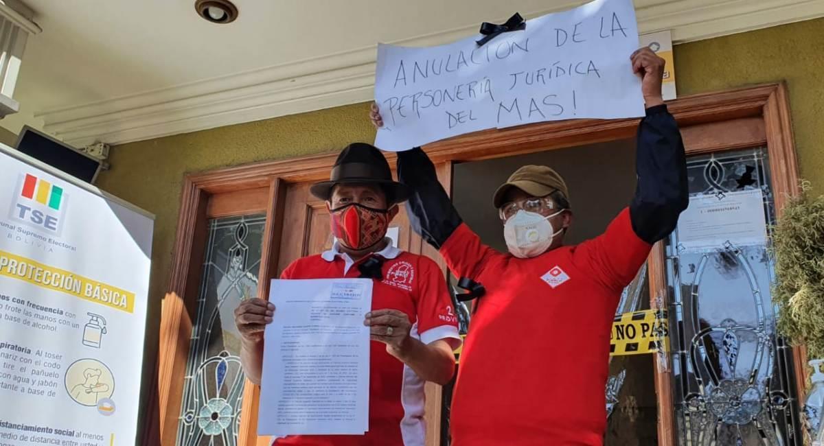 Suman a 6 las denuncias presentadas contra el MAS. Foto: ABI