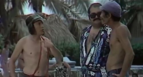 El Señor Barriga revivió olvidada escena del 'Chavo del 8' en Acapulco