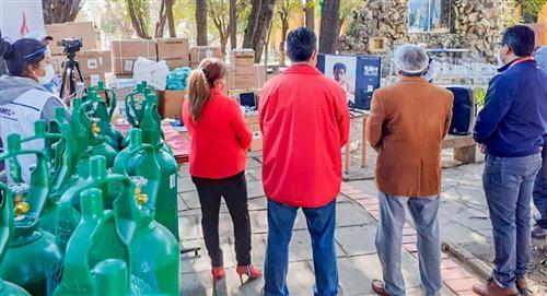 Gobierno entrega insumos y equipamiento médico para enfrentar la pandemia en Tarija