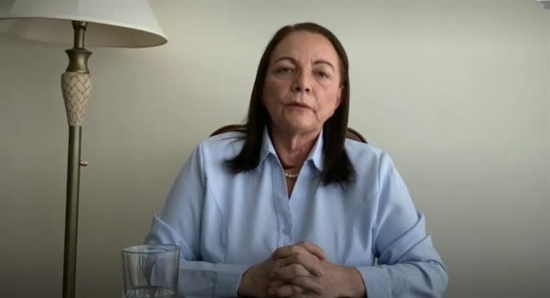 La ministra de Salud, Eidy Roca. Foto: ABI