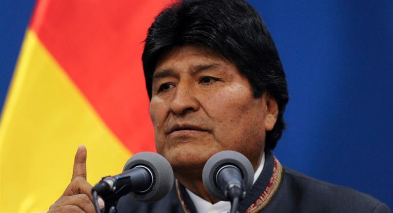 El expresidente Evo Morales. Foto: Flickr