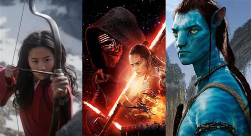 Disney pospone sus grandes estrenos: 'Mulán', 'Star Wars' y 'Avatar'