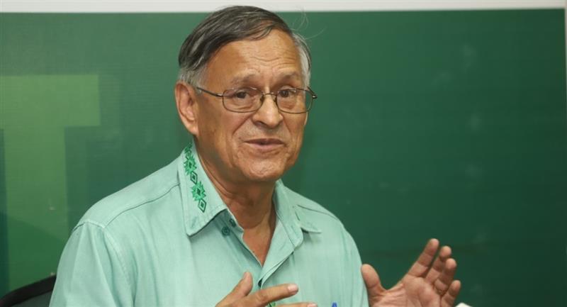 El jefe de Epidemiología del Sedes de Santa Cruz, Roberto Tórrez. Foto: ABI
