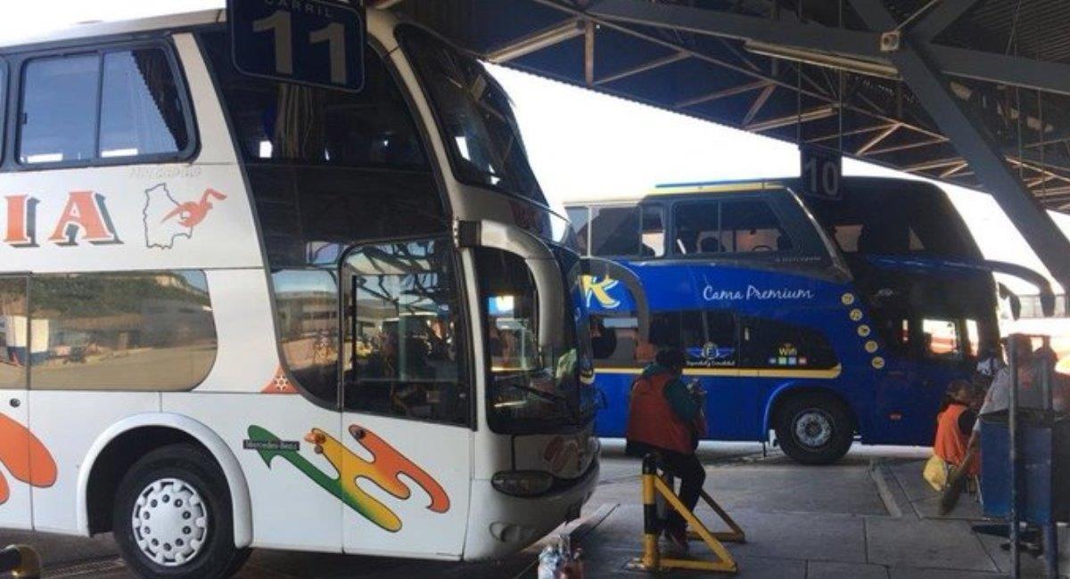 El transporte de Cochabamba a La Paz y Oruro se reanudará el lunes. Foto: ABI