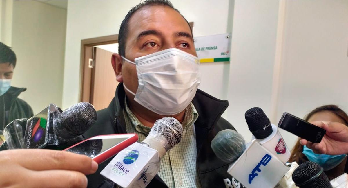 Wilson Santamaría es positivo para COVID-19. Foto: Twitter @RadioAPLP