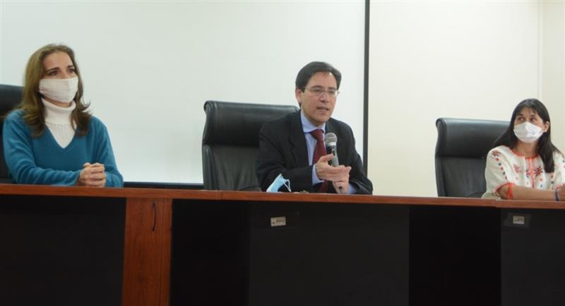 El presidente del TSE, Salvador Romero. Foto: ABI