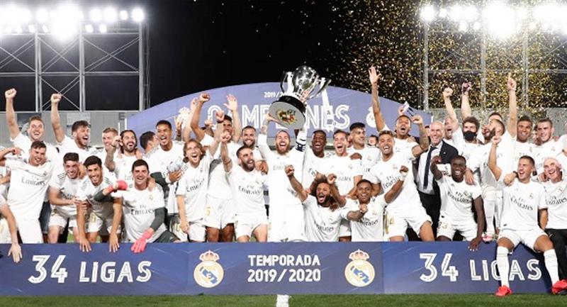 Real Madrid superó a Barcelona que quedó en segundo lugar. Foto: Facebook / @RealMadrid