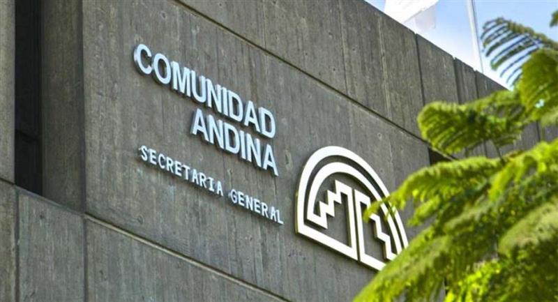 Secretaría General de la Comunidad Andina. Foto: ABI