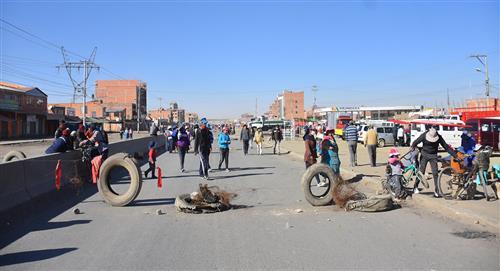 Manifestaciones y bloqueos contra la nueva fecha de elecciones en Bolivia