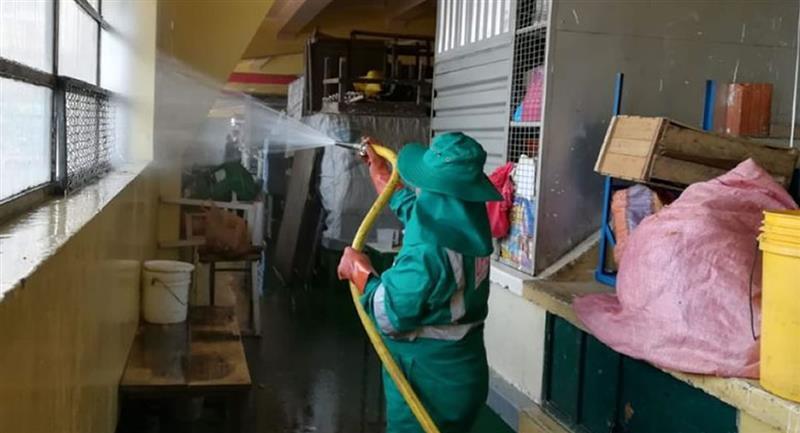 Alcaldía de La Paz ordenó el cierre los tres cetros de  abasto. Foto: ABI