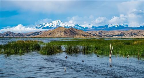 Descubren una ofrenda inca en el lago Titicaca
