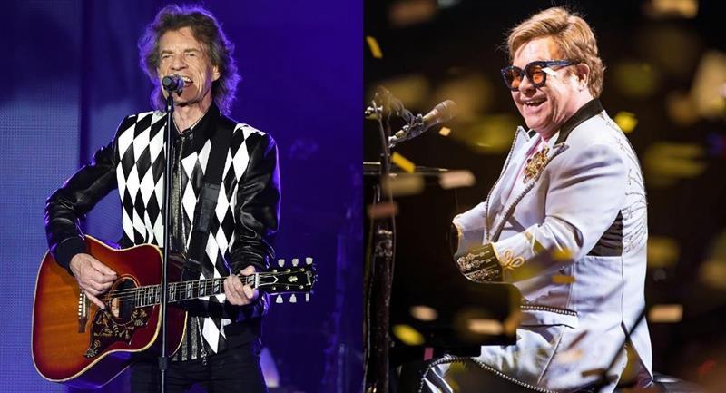 Rolling Stones, Elton John y más artistas demandan políticos por usar su música en campañas