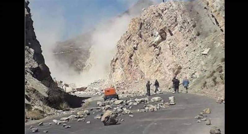 Manifestaciones y bloqueos en Bolivia. Foto: ABI