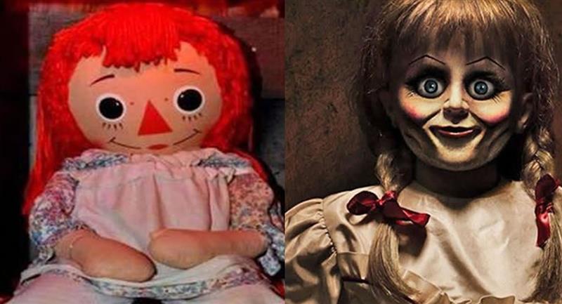 Annabelle fue un regalo para Donna, la dueña de la muñeca. Foto: Twitter @RafaelPoulain y Warner Bros