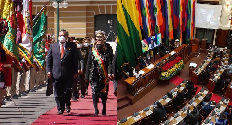 Pugna entre el Ejecutivo y el Legislativo. Foto: EFE