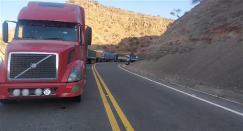 Camioneros piden 72 horas de tregua para retornar a sus lugares de origen