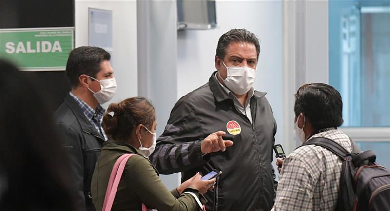 Alcalde de La Paz, Luis Revilla. Foto: ABI