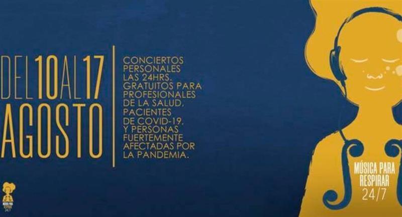 Músicos bolivianos dan conciertos gratuitos. Foto: Facebook @lasociedad.bo