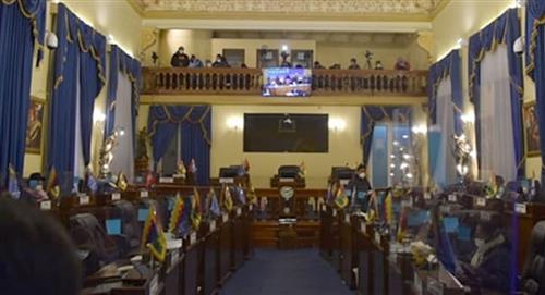 """El Senado de Bolivia se impone al Ejecutivo con un """"bono contra el hambre"""""""